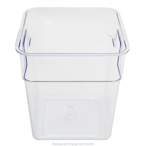 Alegacy Foodservice Products Grp PCSC16S Food Storage Container, Square