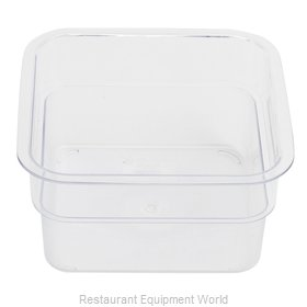 Alegacy Foodservice Products Grp PCSC1S Food Storage Container, Square