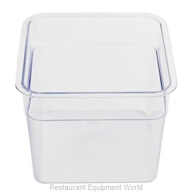 Alegacy Foodservice Products Grp PCSC5S Food Storage Container, Square