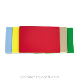 Alegacy Foodservice Products Grp PEL1218MY Cutting Board, Plastic