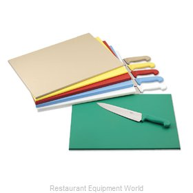 Alegacy Foodservice Products Grp PEL1218Y Cutting Board, Plastic