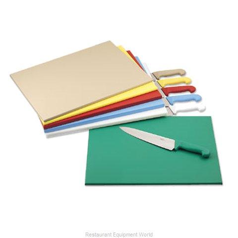 Alegacy Foodservice Products Grp PEL1824Y Cutting Board, Plastic