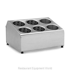 Alegacy Foodservice Products Grp TCD6 Flatware Holder