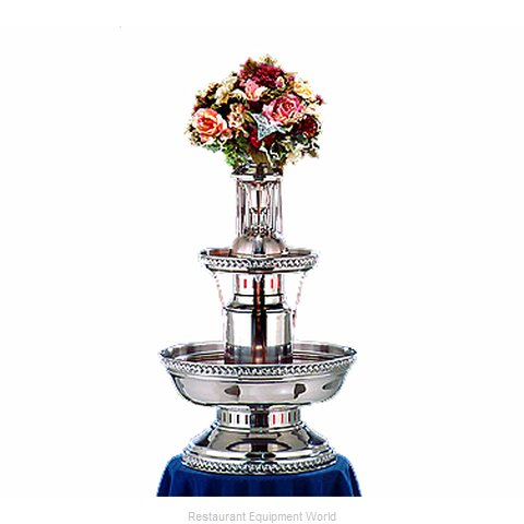 Apex Fountain Sales 4007-04-SS Champagne Fountain (Magnified)
