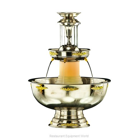 Apex Fountain Sales 4017-04-GT Champagne Fountain (Magnified)