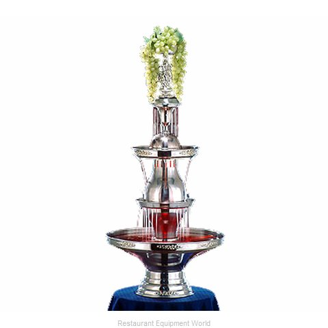 Apex Fountain Sales 4050-SS Champagne Fountain