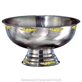 Apex Fountain Sales 6105-GT Punch Bowl, Metal