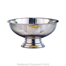 Apex Fountain Sales 6107-GT Punch Bowl, Metal
