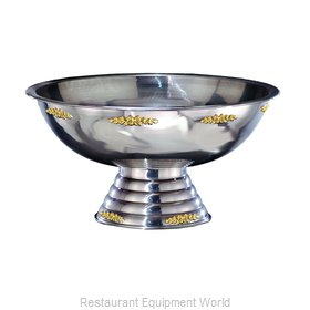 Apex Fountain Sales 6110-GT Punch Bowl, Metal