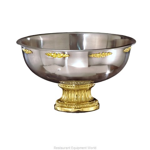 Apex Fountain Sales 6117-G Punch Bowl, Metal
