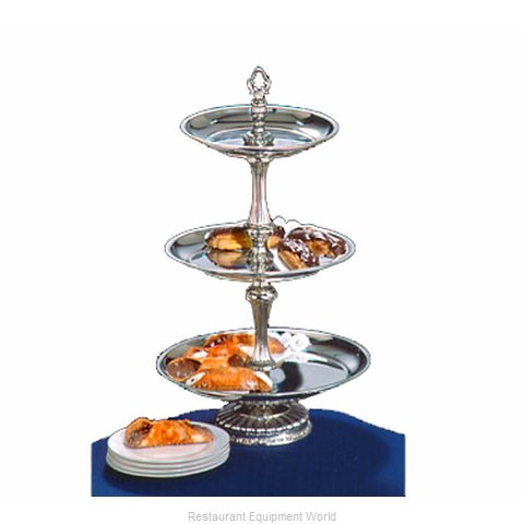 Apex Fountain Sales ATL14-1210-S Tiered Display Server Stand