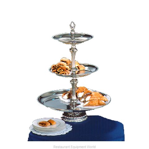 Apex Fountain Sales ATL18-1210-S Tiered Display Server Stand