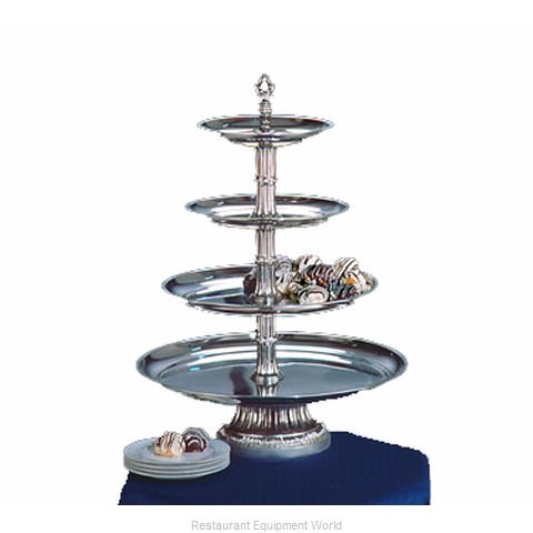 Apex Fountain Sales CLA20-161210-S Tiered Display Server Stand