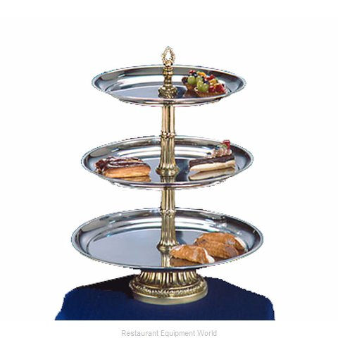 Apex Fountain Sales CLA20-1816-G Tiered Display Server Stand
