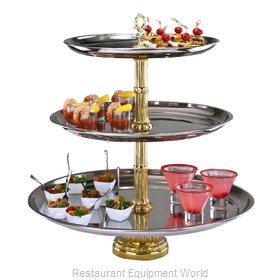 Apex Fountain Sales CLA21-1814-G Display Stand, Tiered