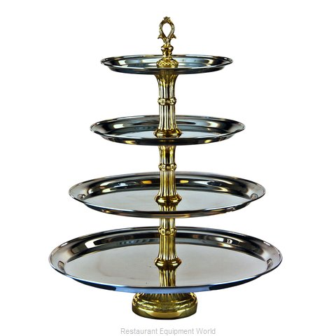 Apex Fountain Sales CLA21-181412-G Display Stand, Tiered