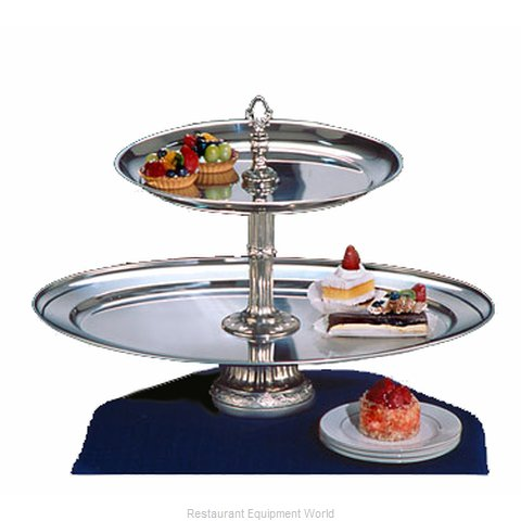 Apex Fountain Sales CLA26OV-16-S Tiered Display Server Stand
