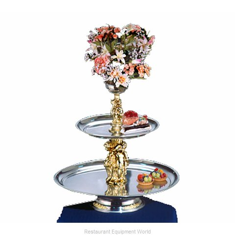 Apex Fountain Sales MAN24-16-G Tiered Display Server Stand