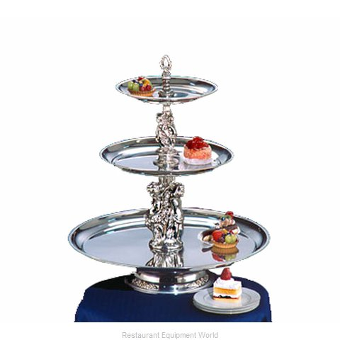 Apex Fountain Sales MAN24-1612-S Tiered Display Server Stand