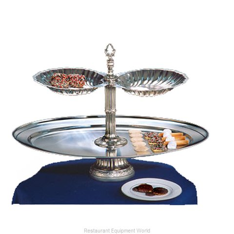 Apex Fountain Sales NEP26OV-2S-S Tiered Display Server Stand