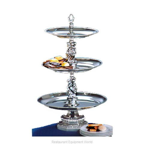 Apex Fountain Sales REN16-1412-S Tiered Display Server Stand