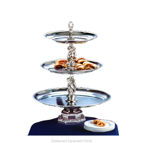 Apex Fountain Sales REN20-1614-S Tiered Display Server Stand