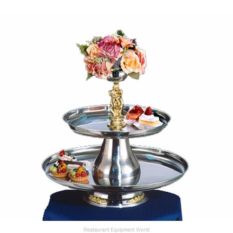 Apex Fountain Sales VIP24-18-G Tiered Display Server Stand
