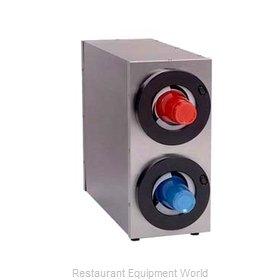 A.J. Antunes DACS-20 Cup Dispensers, Countertop