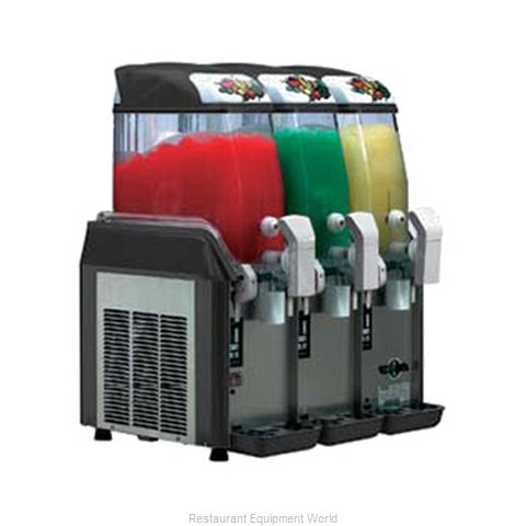 Alfa International AFCM-3 Frozen Drink Machine, Non-Carbonated, Bowl Type