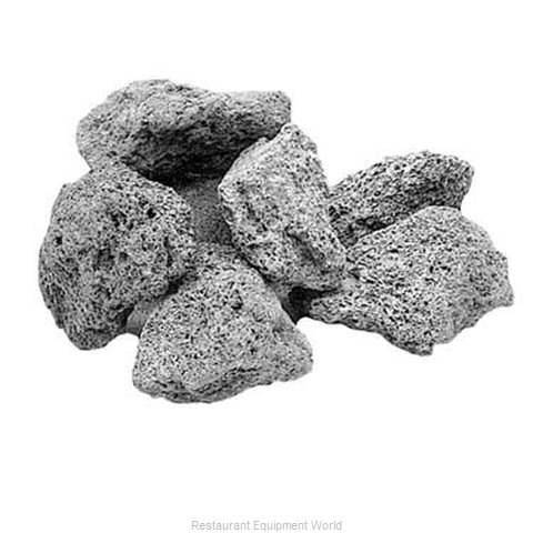 All Points 28-1024 Charcoal Briquettes Char Rocks (Magnified)
