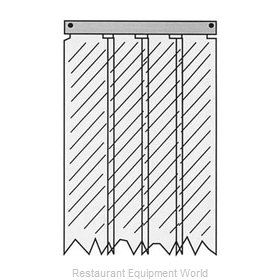 All Points 28-1464 Strip Curtain Unit