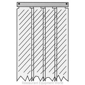 All Points 32-1232 Strip Curtain Unit