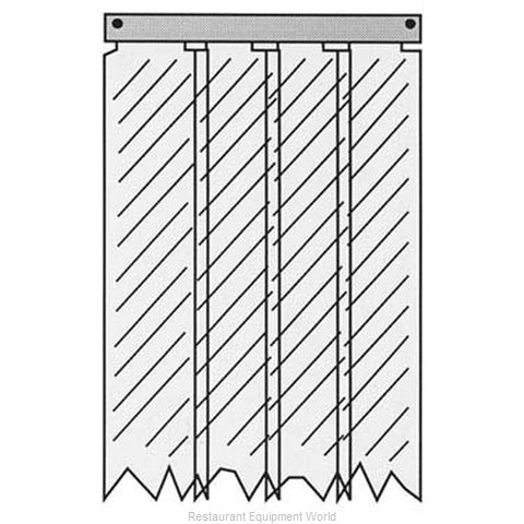 All Points 32-1233 Strip Curtain Unit