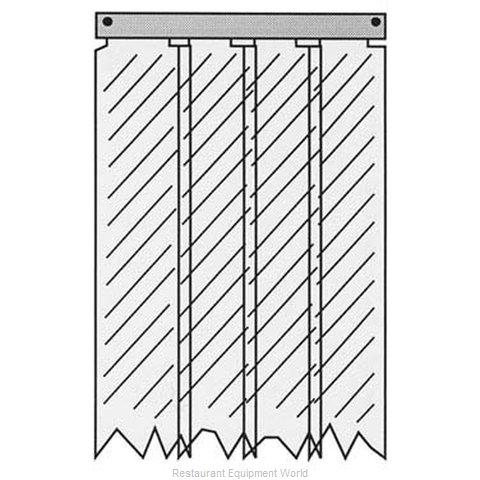 All Points 32-1235 Strip Curtain Unit