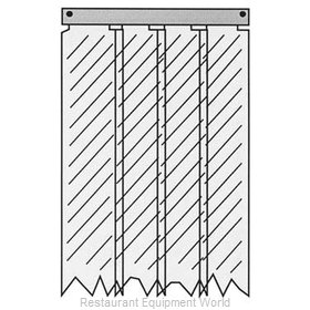 All Points 32-1235 Strip Curtain Unit