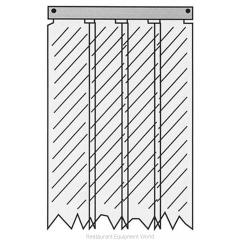 All Points 32-1236 Strip Curtain