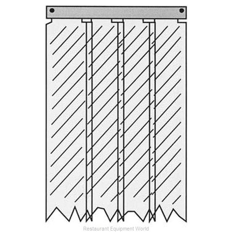 All Points 32-1237 Strip Curtain