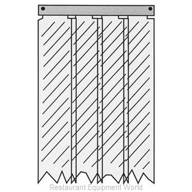 All Points 32-1237 Strip Curtain Unit