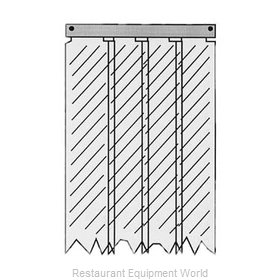 All Points 32-1858 Strip Curtain Unit