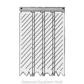 All Points 32-1858 Strip Curtain Unit