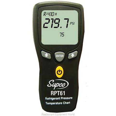 All Points 72-1219 Pressure-Temperature Chart Master
