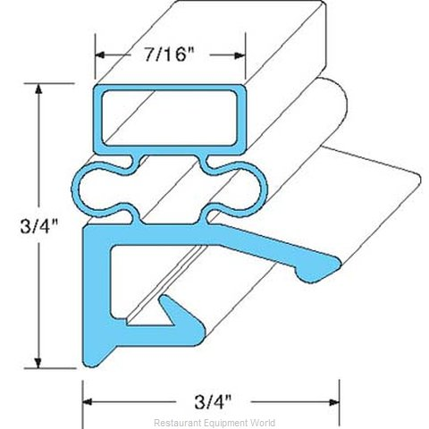 All Points 74-1024 Gasket Refrigeration