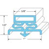 All Points 74-1046 Refrigerator, Door Gasket