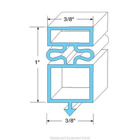All Points 74-1058 Gasket Refrigeration