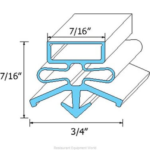 All Points 74-1061 Gasket Refrigeration