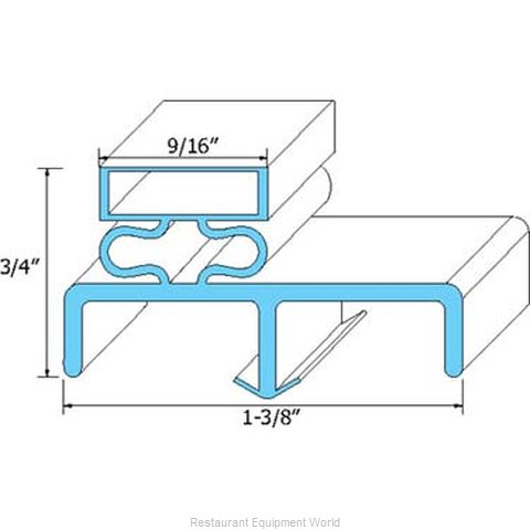 All Points 74-1069 Gasket Refrigeration