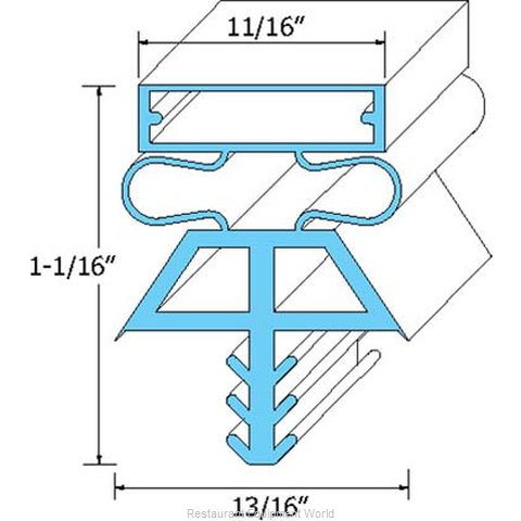 All Points 74-1073 Gasket Refrigeration