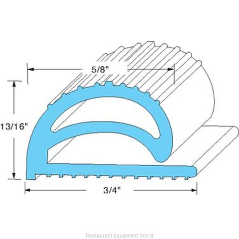 All Points 74-1077 Gasket Refrigeration