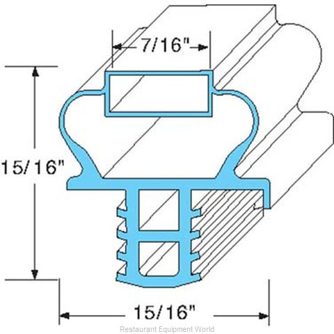 All Points 74-1090 Gasket Refrigeration