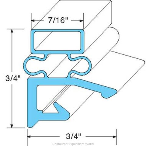 All Points 74-1104 Gasket Refrigeration